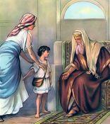 Samuel is presented to Eli I Samuel 1:24-28
