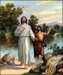 The Baptism of Jesus Matthew 3:16-17